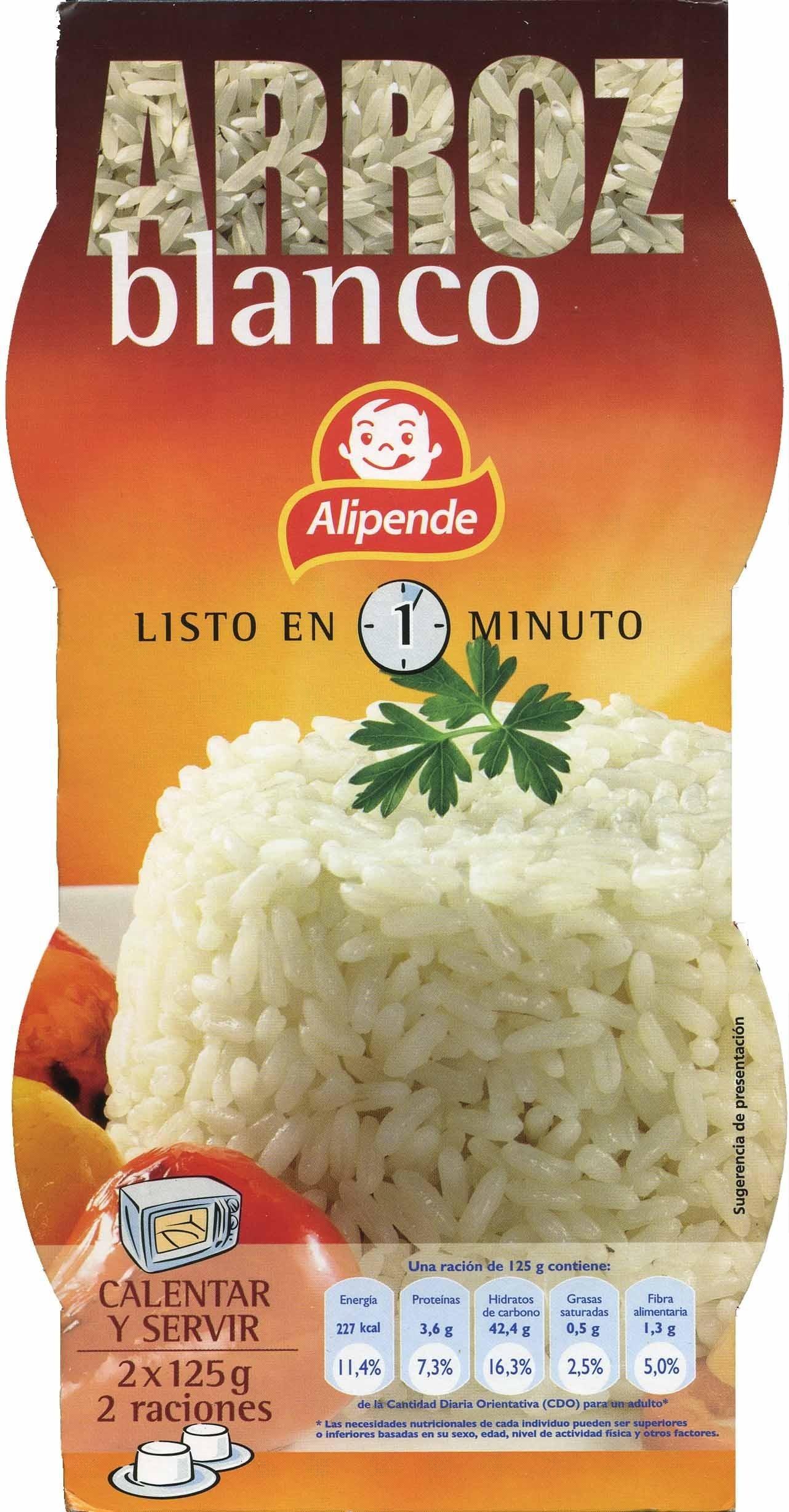 Arroz cocido blanco - Producto - es