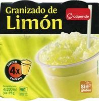 Granizado de limón - Produit
