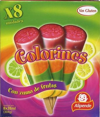 Helados de hielo con zumo de frutas - Product - es