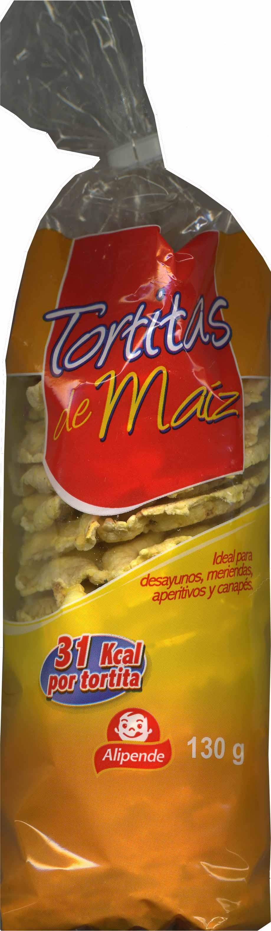 Tortitas de maiz - Producto