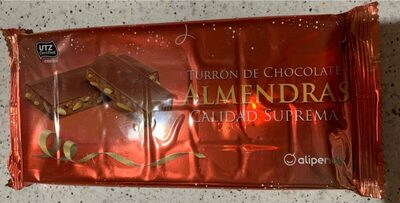 Turron de Chocolate Almendras Superior