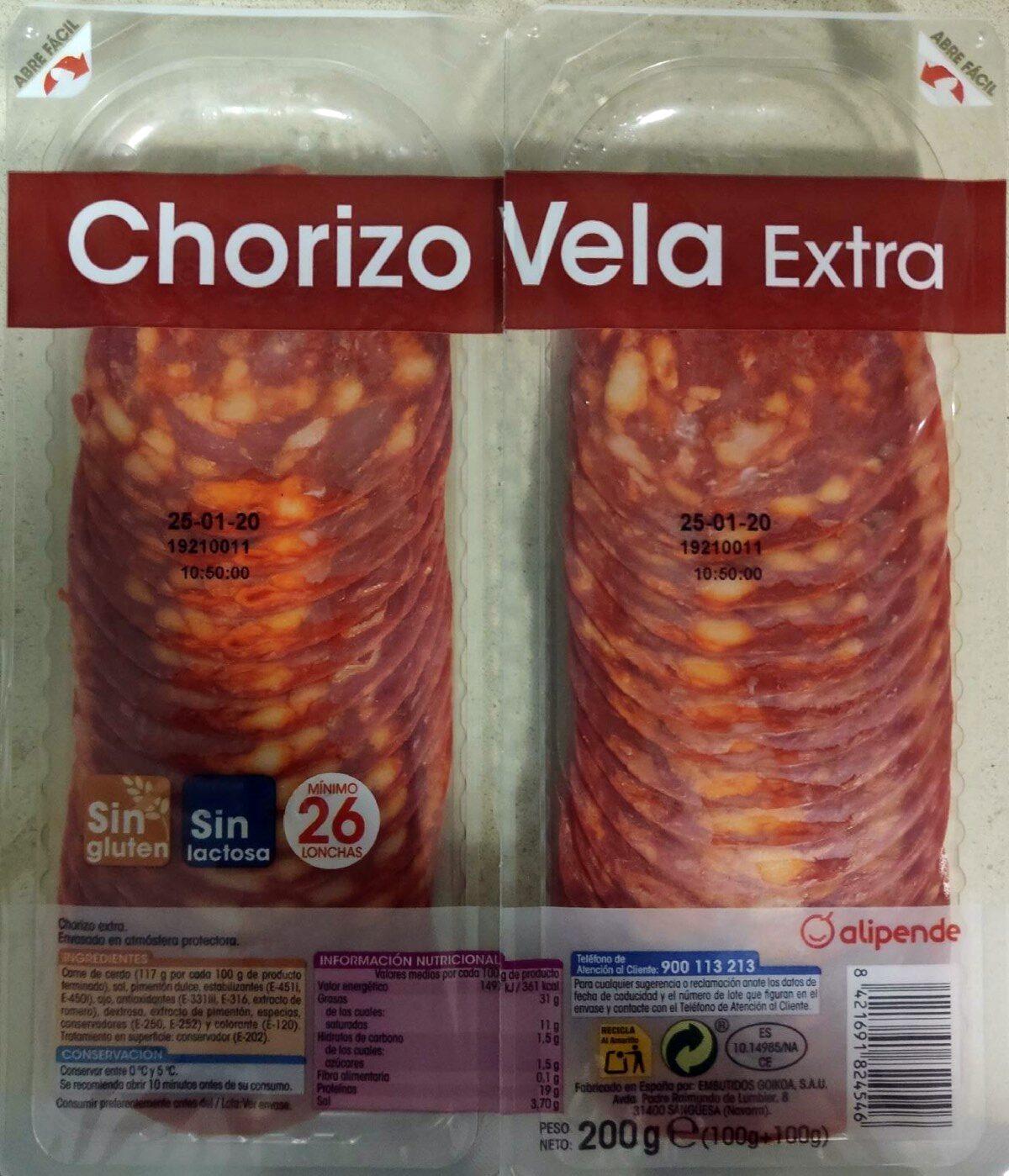 Chorizo vela extra - Product - es