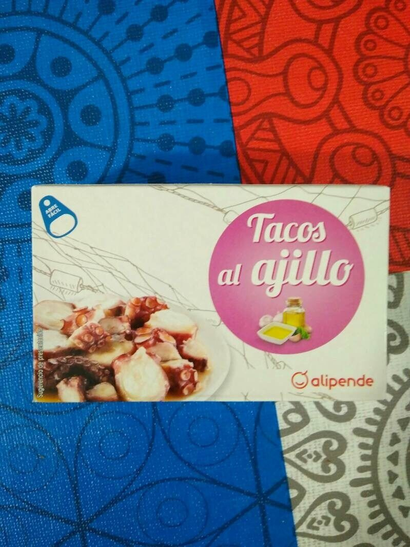 Tacos al ajillo - Product
