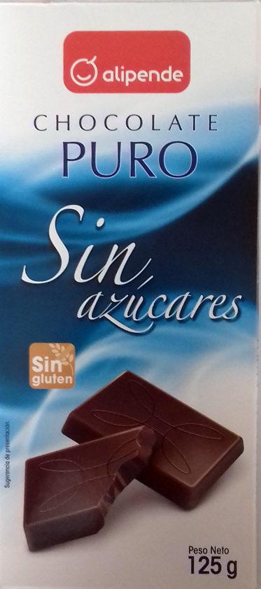 Chocolate puro - Producto