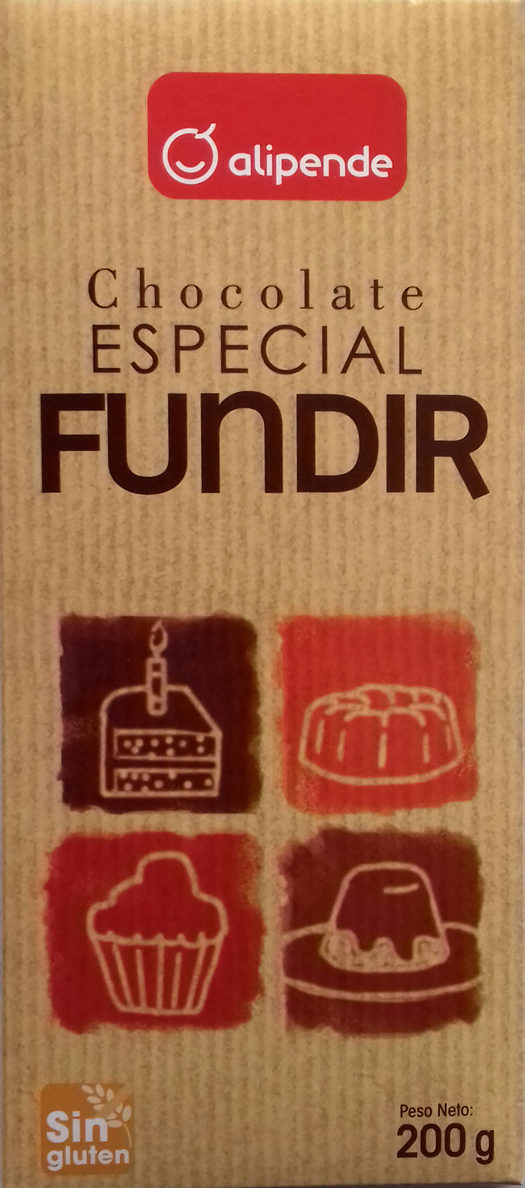Chocolate Especial Fundir - Producte - es