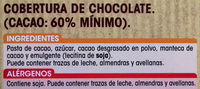 Chocolate Especial Fundir - Ingredients
