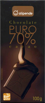 Chocolate puro 70% cacao - Product