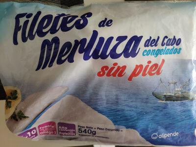 Filetes de merluza sin piel - Produit - es