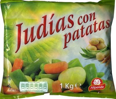 Judías con patatas