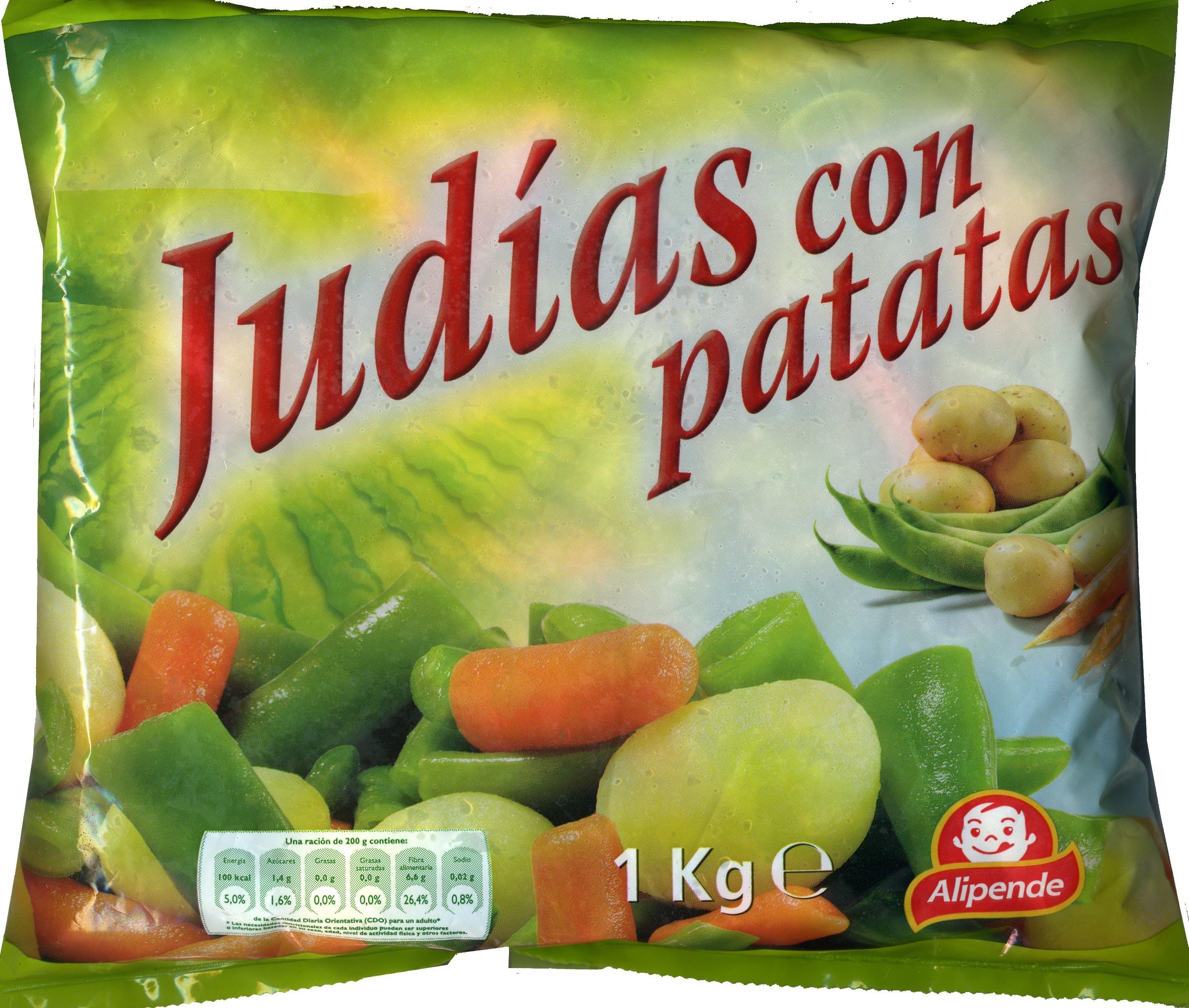 Judías con patatas - Produit - es