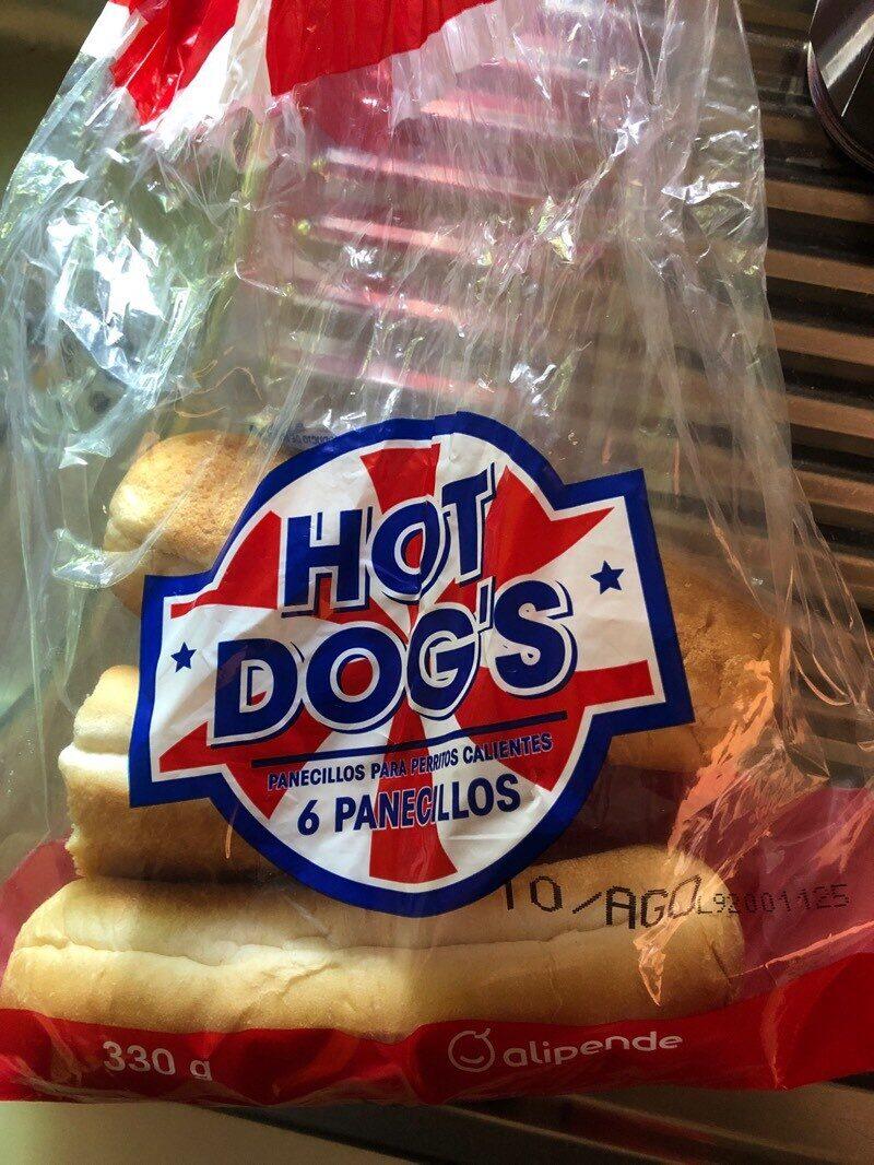 Panecillos hot dog - Product