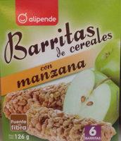 Barritas de cereales con manzana - Producto - es