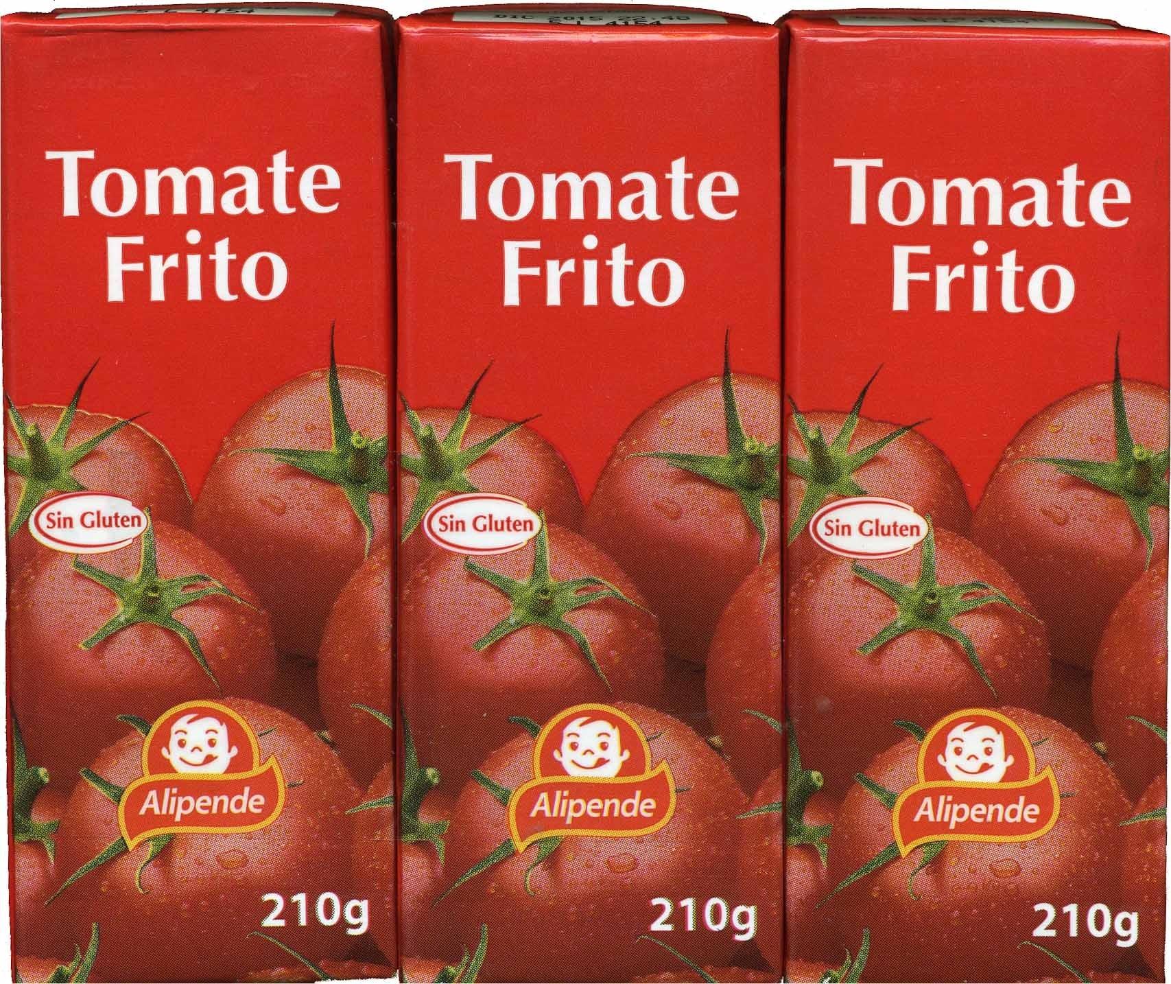 """Tomate frito """"Alipende"""" Pack de 3 - Produit"""