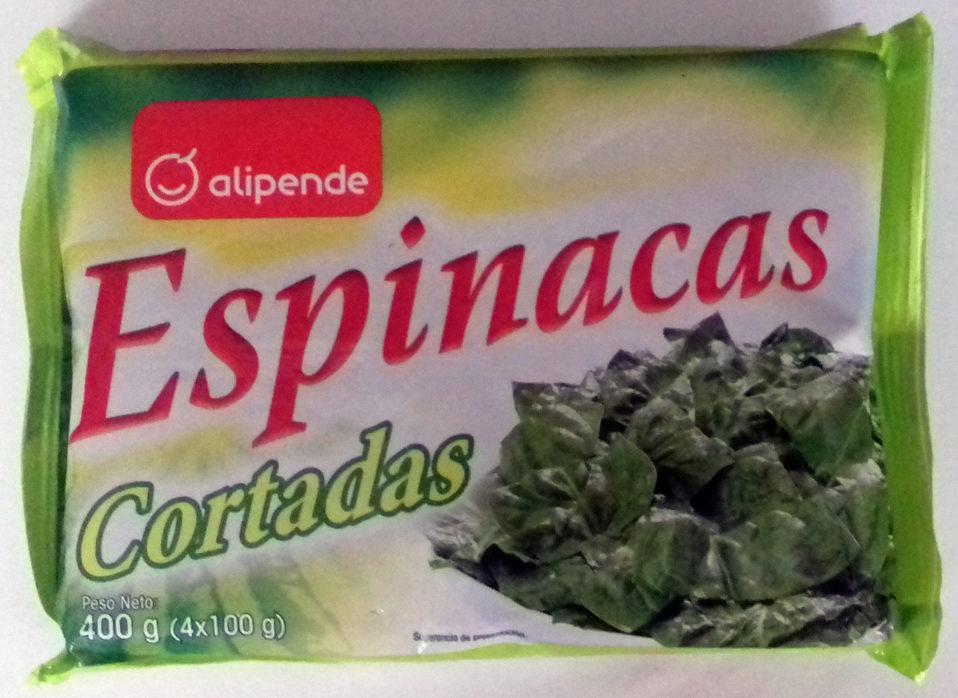 Espinacas cortadas - Produit
