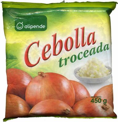 """Cebolla troceada congelada """"Alipende"""" - Producto"""
