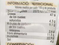 Almendra - Nutrition facts - es