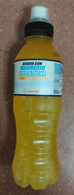 Bebida con magnesio zero azúcar