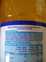 Bebida con Magnesio zero azúcar - Ingrédients - es
