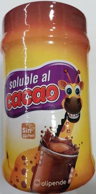 Preparado soluble al cacao - Produit