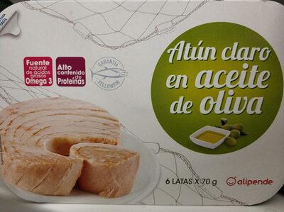 Aún claro en aceite de oliva
