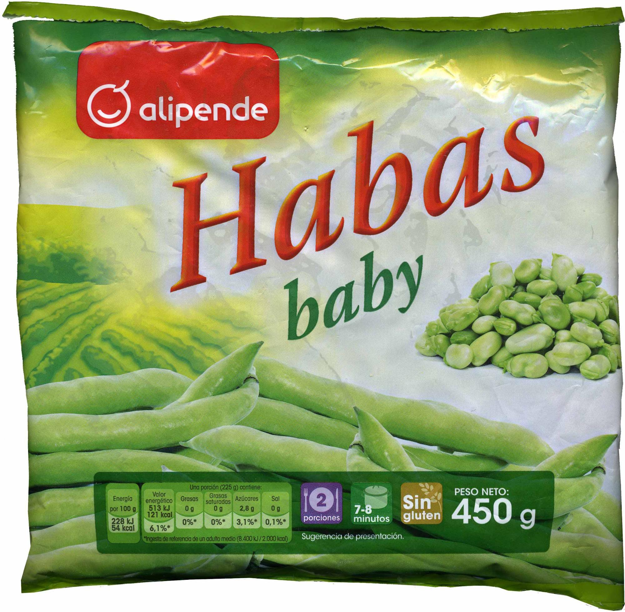 Habas baby alipende - Producto