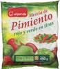 Pimiento rojo y verde en tiras - Producto