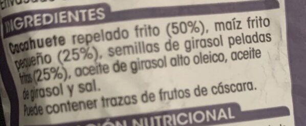 Mix Picoteo - Ingredients
