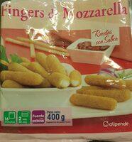 Fingers de Mozarella - Produktua