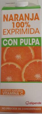 Naranja 100 % exprimida - Product