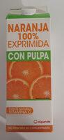 Naranja 100 % exprimida - Ingrediënten