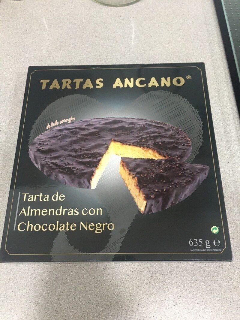Tarta de almendras con chocolate - Produit - es