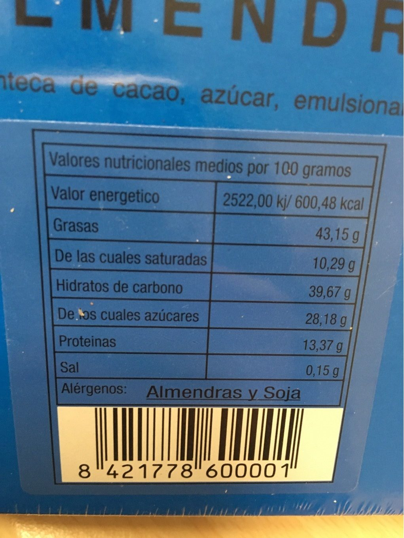 Piedras de Portomarín - Informations nutritionnelles - fr