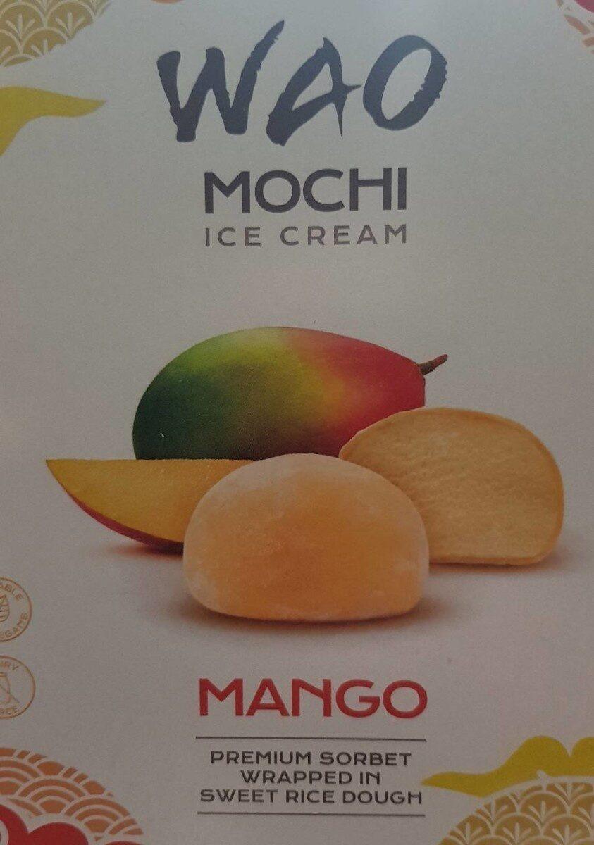 Wao mochi ice cream mango - Product - fr