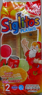 Siglitos Flash's - Produit - fr