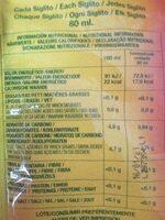 Siglitos Flash's - Ingredientes - es