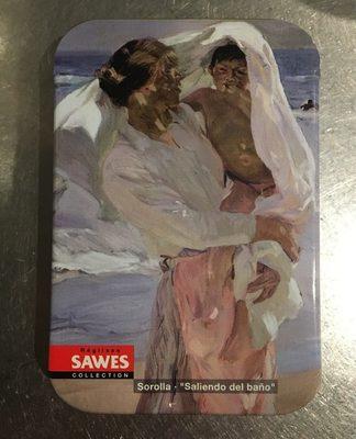Sawes Regaliz Art Collection Caja Metalica 20 GR 6 Modelos Diferentes (Sin Azucar Añadido) - Producto