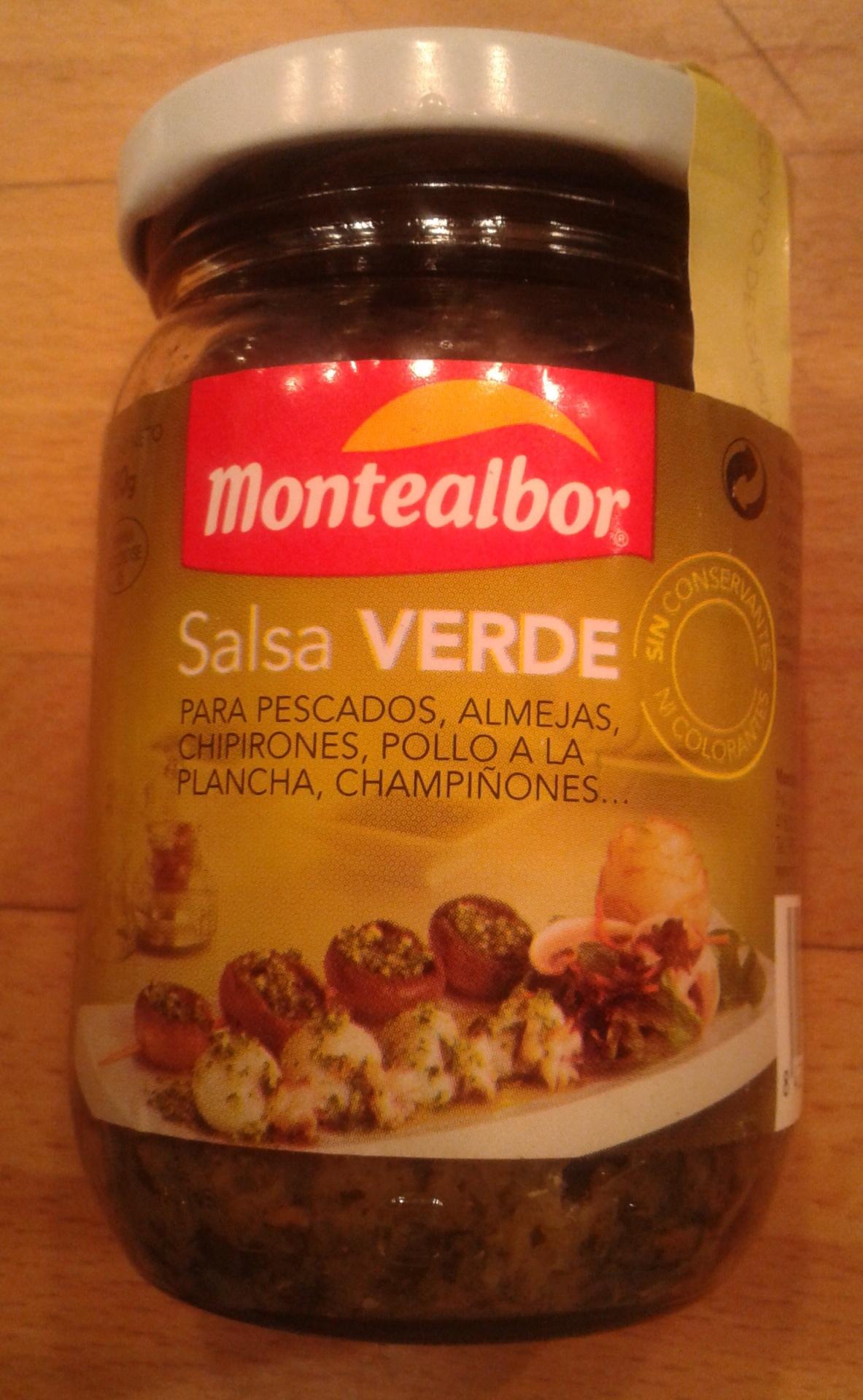Salsa verde - Product - es