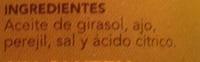Salsa verde - Ingredientes