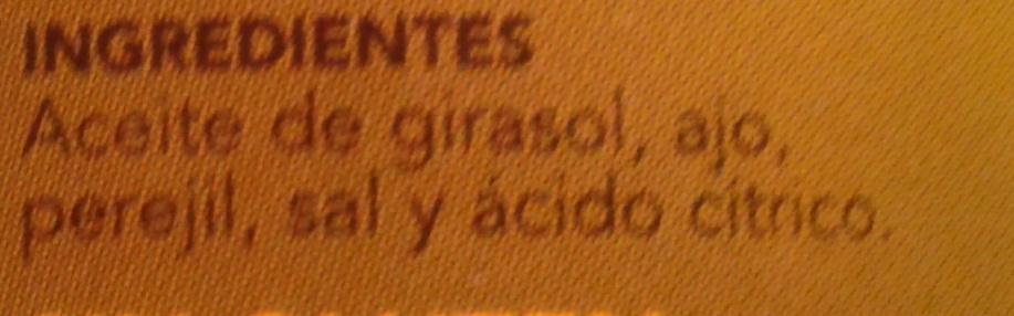 Salsa verde - Ingrediënten - es