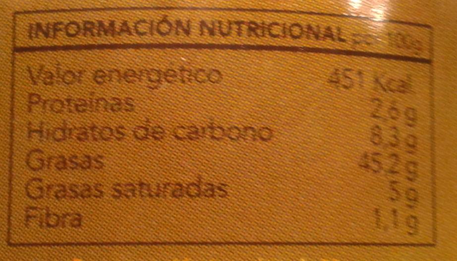 Salsa verde - Voedingswaarden - es