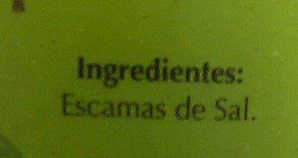 Escamas de sal natural - Ingredients - es
