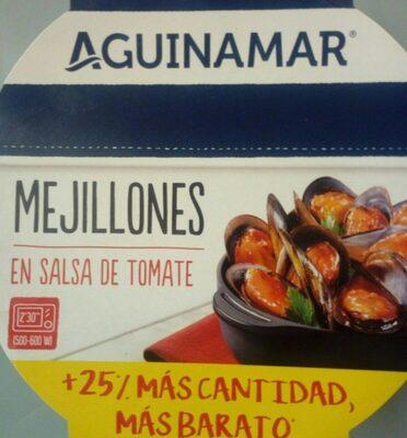 Mejillones en salsa de tomate - Producto