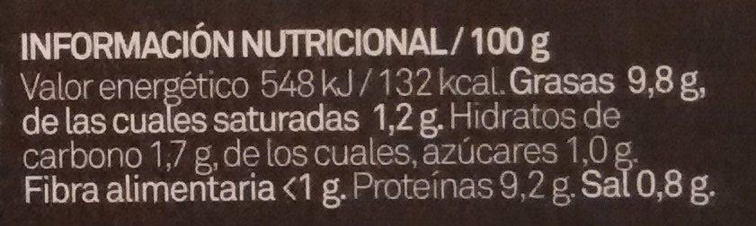 Salpicón de marisco - Informació nutricional - es
