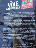 Manos Locas - Ingredients - es