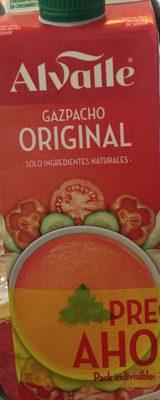 Gazpacho original sin gluten envase 1 l - 产品 - fr