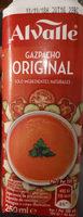 Alvalle Gazpacho Original 250ML - Producto - es