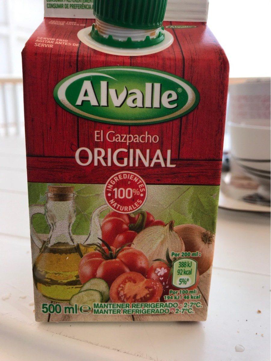 Gazpacho original sin gluten envase 500 ml - Producto - fr