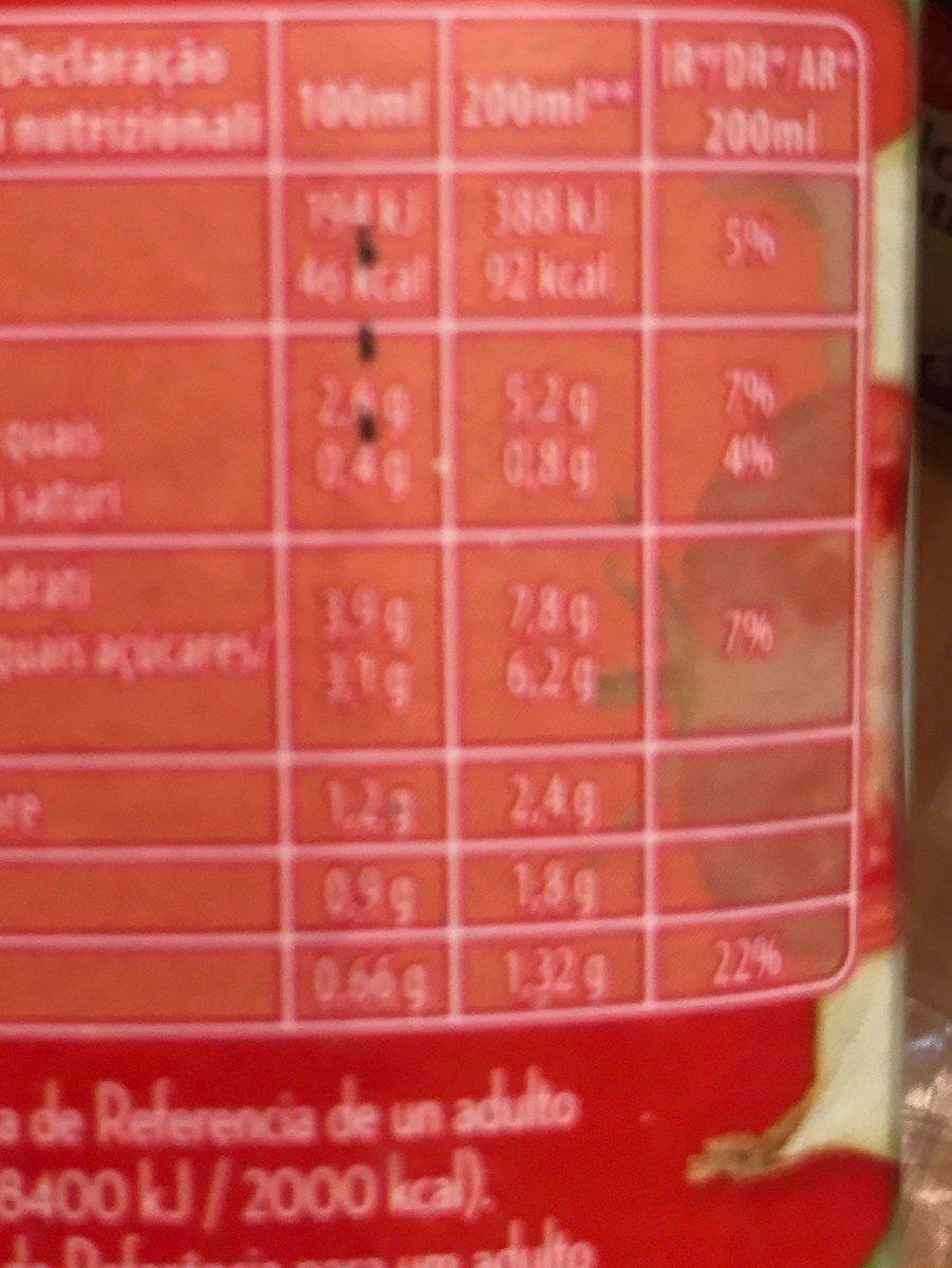 Gazpacho original pack ahorro 2 unidades sin gluten envase 1 l - Información nutricional - fr