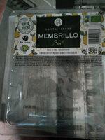 Membrillo sin gluten ecológico envase 290 g - Producto