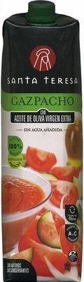 Gazpacho con tomate rama con aceite de oliva virgen extra - Product